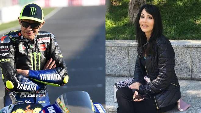 Valentino Rossi e Luisa Stracqualursi