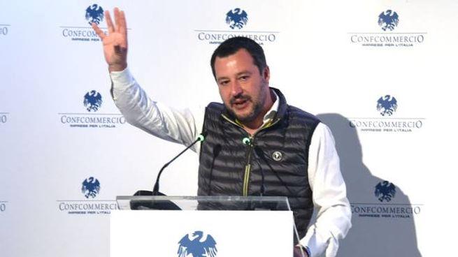Matteo Salvini a Cernobbio (ImagoE)