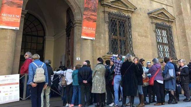 Giornate Fai, la coda per entrare alla Fondazione Zeffirelli a Firenze
