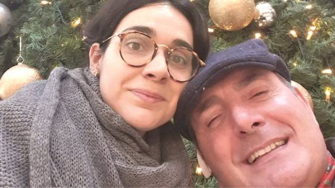 Martina Giangrande e il padre Giuseppe