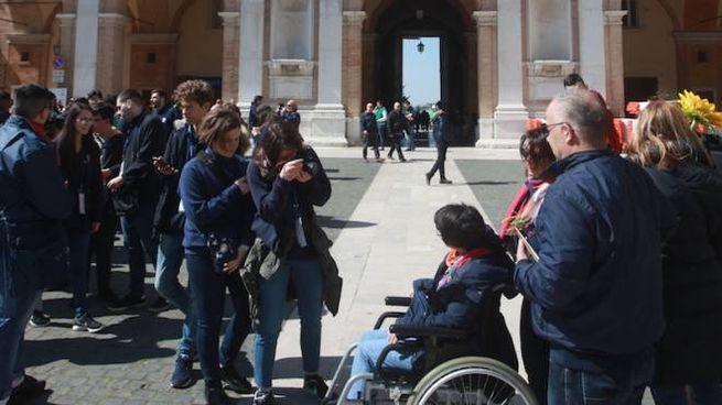 Papa Francesco in visita a Loreto il 25 marzo (Foto Antic)