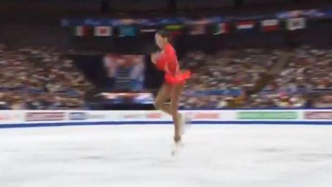 Salto quadruplo per la 19enne Elizabet Tursynbaeva (twitter)