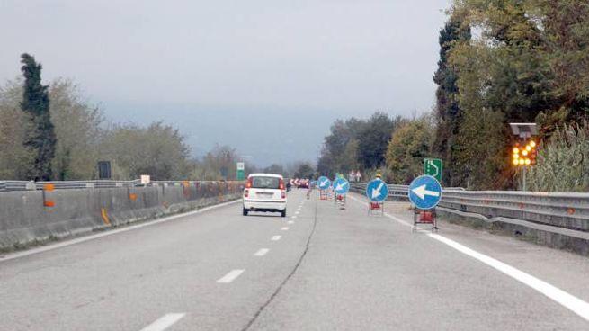 Incidente sulla Ascoli Mare, superstrada bloccata (foto di repertorio LaBolognese)