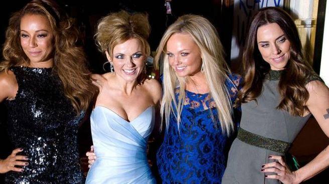 Le Spice Girls nel dicembre del 2012