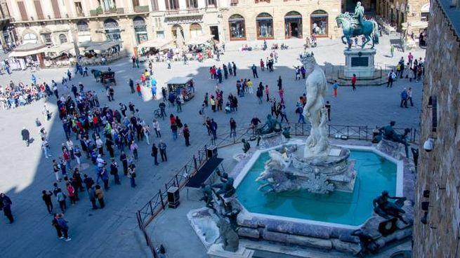 La Fontana del Nettuno a Piazza della Signoria (ImagoE)