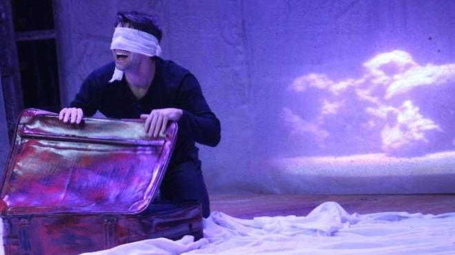 Una scena dello spettacolo di Mouawad