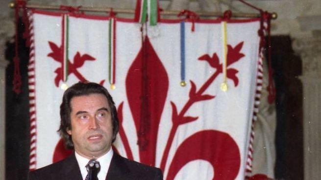 Riccardo Muti a Firenze in una foto d'archivio