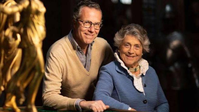 Neri Torrigiani e Giorgiana Corsini (A. Moggi)