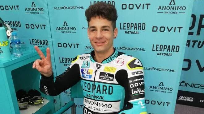 Lorenzo Dalla Porta nel paddock