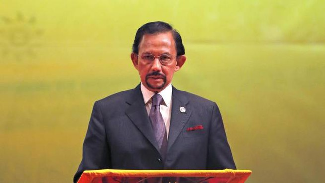 Il sultano del Brunei Hassanal Bolkiah (Ansa/Ap)