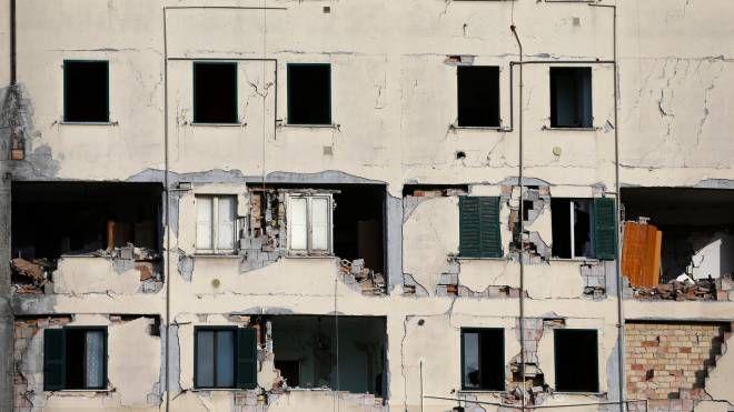 L'Aquila dieci anni dopo il terremoto (Lapresse)