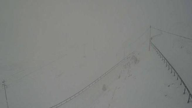 La situazione al passo del Foscagno (webcam)