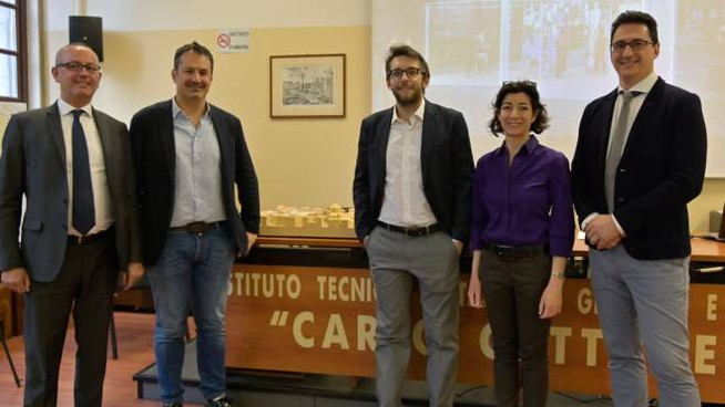 Francesco Rovere, Stefano Carone,Pierfrancesco Maran, Cristina Tajani Sebastiano Pasculi