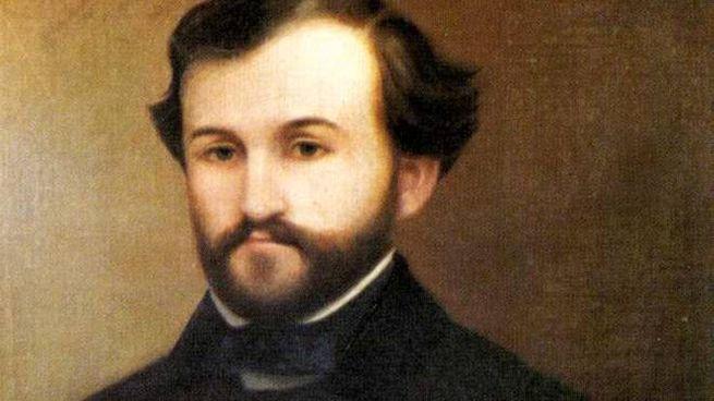 Un giovane Giuseppe Verdi