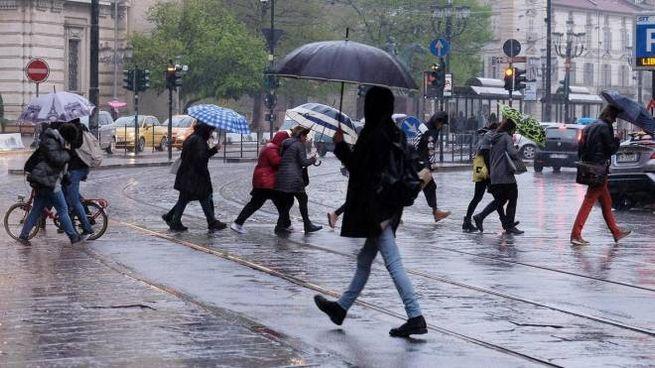 Previsioni meteo, tempo instabile per tutta la settimana (foto Ansa)