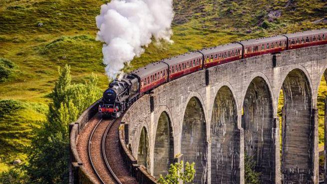 Il Jacobite Express percorre gli scenari di 'Harry Potter'