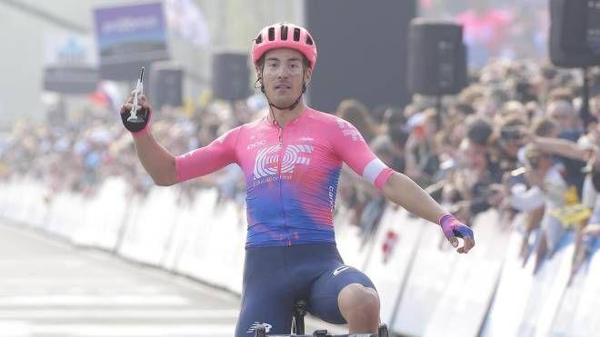 Giro delle Fiandre, Alberto Bettiol (Ansa)