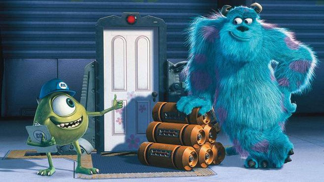 Una scena del film 'Monster & Co.' - Foto: Pixar