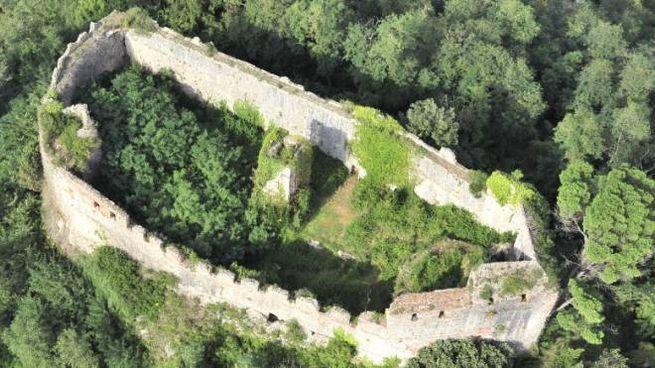 La Rocca di Ripafratta (foto aerea Frassi)