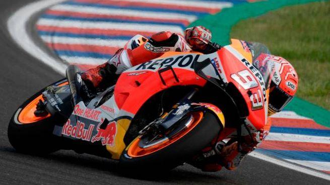 MotoGp, Marc Marquez (foto Afp)