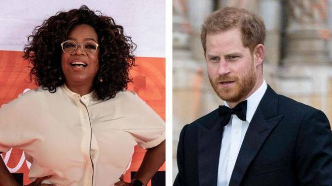 Il principe Harry e Oprah Winfrey