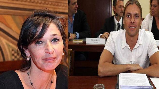 Chiara Benvenuti e Luca Mazzantini, consiglieri M5S a San Miniato e Santa Croce