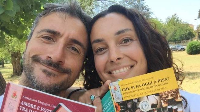 Alessandro Bargagna e Chiara Celli di City Grand Tour