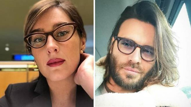 Maria Elena Boschi e Giulio Berruti (Instagram)