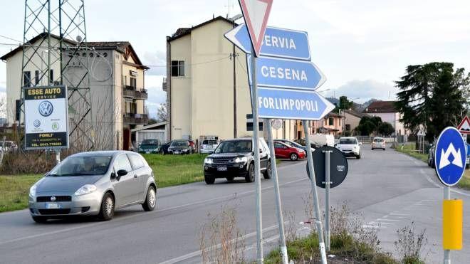 La fine di via Mattei a San Leonardo, dove partirebbe la nuova Emilia