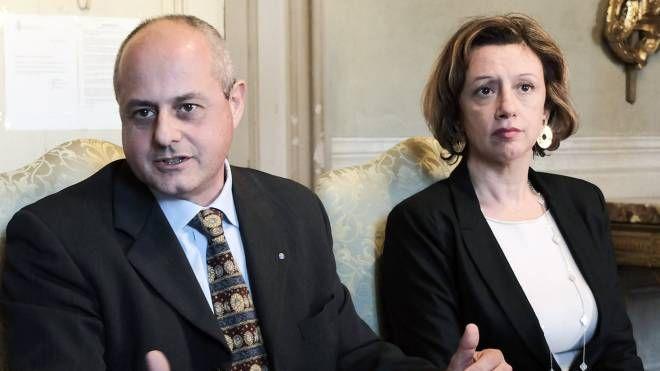 Andrea Longhi e Manuela Sangiorgi (Isolapress)