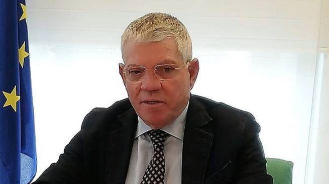 Il presidente Pino Alati durante la conferenza