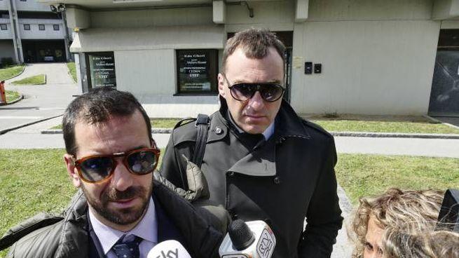 Gli avvocati Alfano e Nistri (foto Attalmi)
