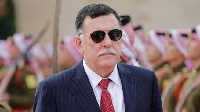 Il premier libico Fayez al Sarraj (Ansa)