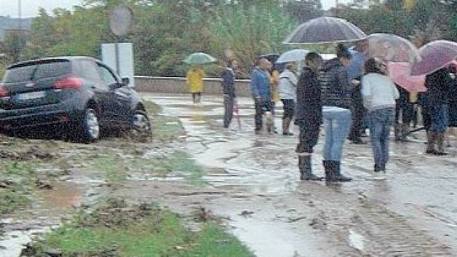Danni per l'alluvione del 2013 a Figline