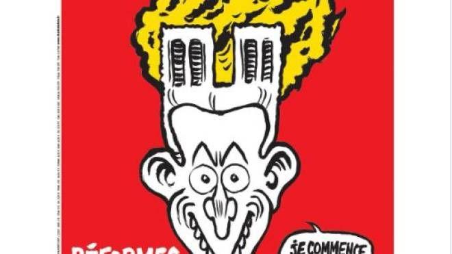 Notre Dame, la copertina di Charlie Hebdo