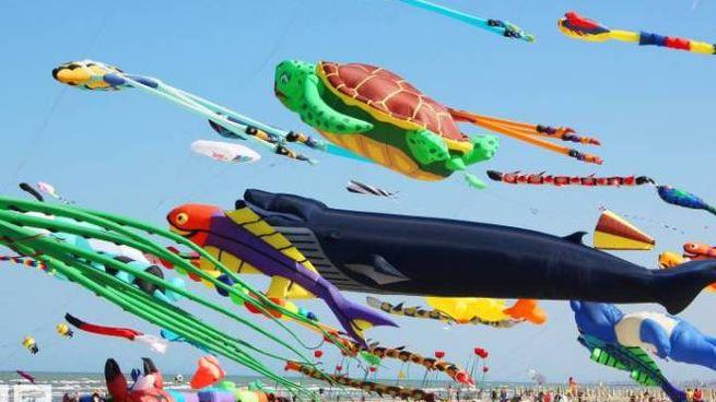 Il Festival Internazionale dell'Aquilone di Cervia si svolgerà dal 20 aprile al 1° Maggio