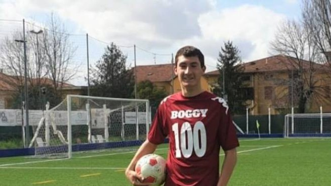 Il 16enne Bogdan Stauciuc dei Giovani Granata Monsummano