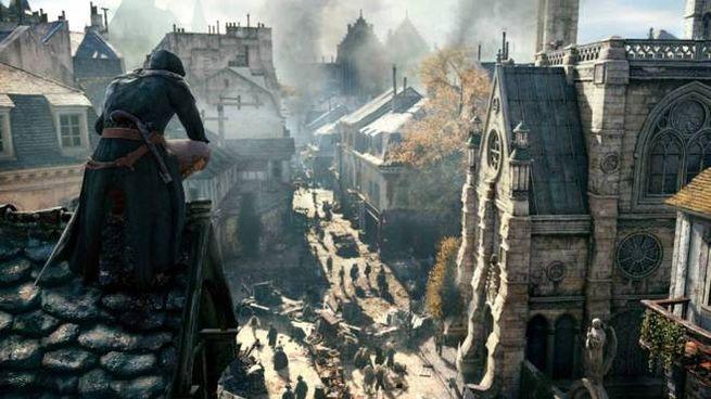 Uno screenshot del videogame 'Assassin's Creed Unity' – Foto: Ubisoft