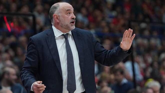 Pablo Laso, coach del Real (LaPresse)