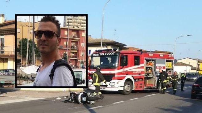 Il luogo dell'incidente, vittima Diego Paganin