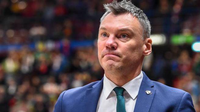 Jasikevicius, coach dello Zalgiris (LaPresse)