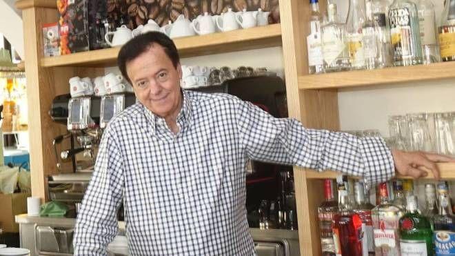 Piero Gabrielli in uno dei locali gestiti in città dalla famiglia