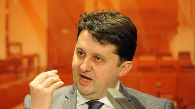 L'ex assessore alla sanità umbra Luca Barberini