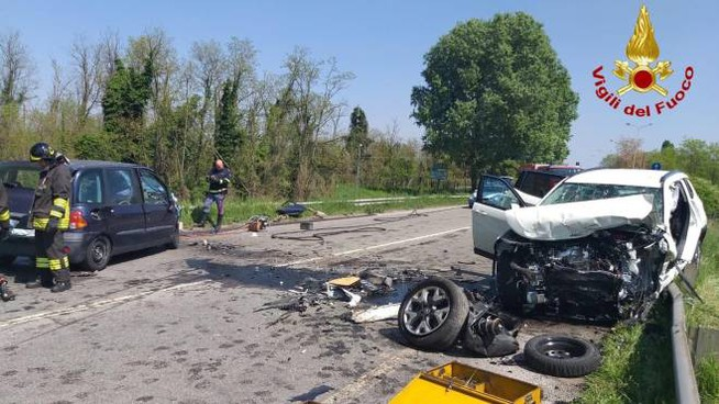 Il tragico incidente sulla Paullese a Spino d'Adda