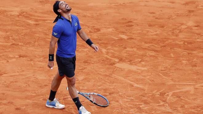 Fabio Fognini batte Nadal: è in finale a Montecarlo (Ansa)
