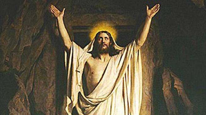 'La Resurrezione' di Carl Heinrich Bloch (1834-1890)