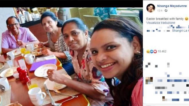 Sri Lanka, la chef morta nell'esplosione dell'hotel Shangri-La a Colombo