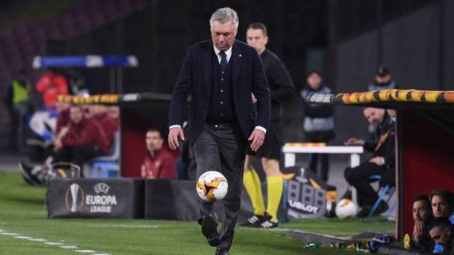 Carlo Ancelotti, allenatore del Napoli (LaPresse)