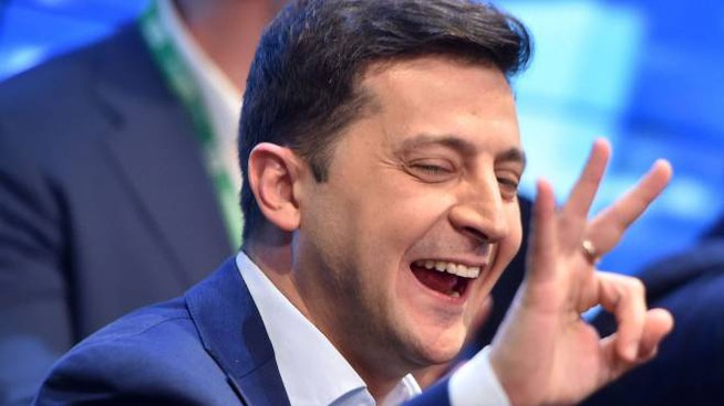 Volodymyr Zelensky, neo presidente dell'Ucraina (Lapresse)