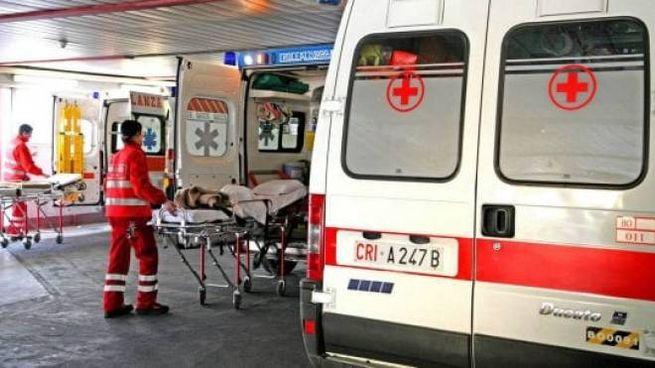 Le ambulanze hanno lavorato intensamente tra sabato e domenica